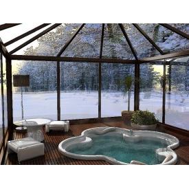 Зимний сад Рейнарс алюминиевый коричневый
