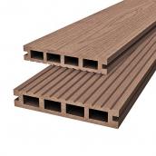 Терасна дошка Woodplast Bruggan 125x23x2200 мм cedar