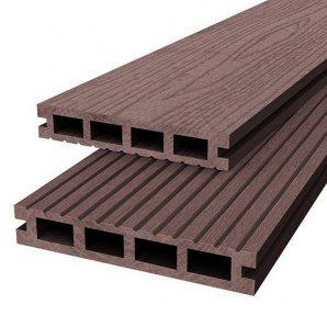 Терасна дошка Woodplast Bruggan 125x23x2200 мм mogano