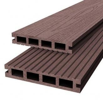 Террасная доска Woodplast Bruggan 125x23x2200 мм mogano
