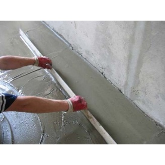 Пристрій цементно-піщаної стяжки