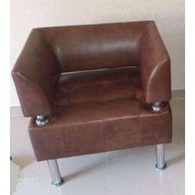 Кресло Тонус 800x600х700 мм коричневое