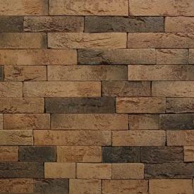 Плитка декоративна гіпсова Rustika Оксфорд кави 250x50 мм