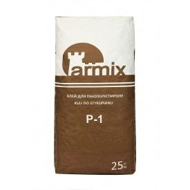 Клей для приклеивания пенопласта Armix P-1 25 кг