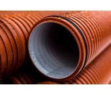 Труба канализационная гофрированная PipeLife PRAGMA 200 мм 6 м