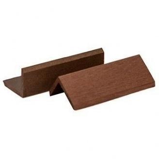 Уголок для террасной доски Woodplast Mirradex 55x45x2200 мм