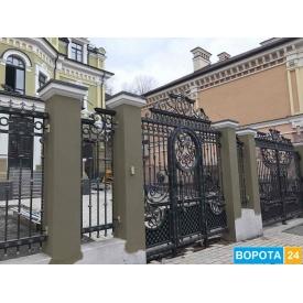 Распашные кованые ворота 3000х2000 мм