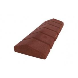Парапет сухонабивний вузький 480х200х70 мм коричневий