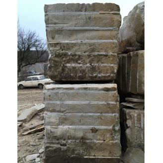 Блок из песчаника для распиловки 1 м3