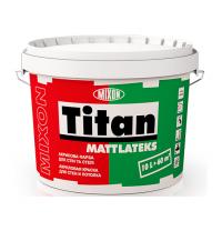 Акриловая краска Mixon Титан Матлатекс 10 л белый