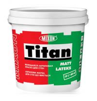 Акриловая краска Mixon Титан Матлатекс 1 л белый