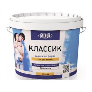 Акрилова фарба Mixon Класик 10 л білий