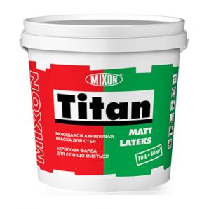 Акрилова фарба Mixon Титан Матлатекс 1 л білий