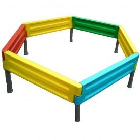 Песочница для детской площадки 1 деление