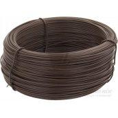 Проволока ПВХ 2,0 мм 100 пог м коричневая