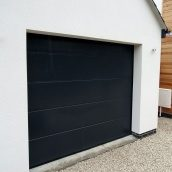 Секционные гаражные ворота Alutech Trend L-гофр