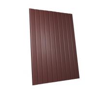 Профнастил стіновий ПС-8 0,35 мм мат коричневий