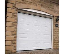 Секционные гаражные ворота Alutech Trend филенка