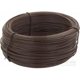 Дріт ПВХ 2,0 мм 100 пог м коричневий