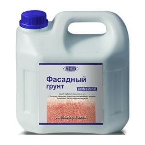 Грунтовка-вологоізолятор Mixon Аквастоп Фасадний 3 л