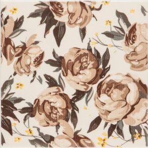 Плитка декоративная АТЕМ Orly Galliano Rose B 200x200 мм