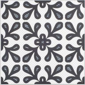 Плитка декоративна АТЕМ Orly Elegant BK 200х200 мм