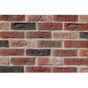 Плитка ручной работы Loft Brick Бельгийский №7 NF 240х15х71 мм черная