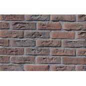 Фасадна плитка Loft Brick Бельгійський 02 Коричнево-бордовий з підпалом 240x71 мм