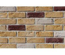 Фасадная плитка Loft Brick Тоскана Темно-коричневый с солью 210x65 мм