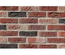 Фасадная плитка Loft Brick Бельгийский 07 Красно-Черный 240x71 мм