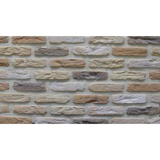 Фасадная плитка Loft Brick МФ 50 Крем 190x50 мм