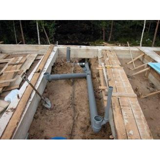 Монтаж канализационной системы частного дома