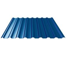 Профнастил ПК-20 для даху 0,4 мм синій