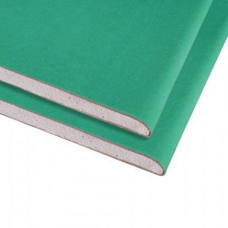 Гипсокартон влагостойкий Knauf 1,2 мм 1,2*2,5 м