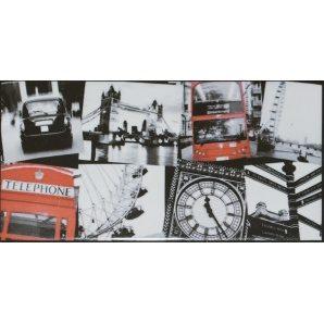 Плитка декоративна АТЕМ Sandra London 2 76х152 мм