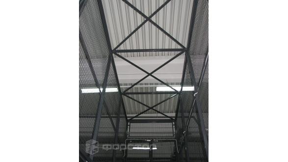 Длинноразмерная грузовая платформа для склада