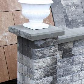 Блок декоративный Золотой Мандарин двусторонний скол М-200 300х200х100 мм грейс