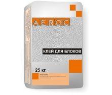 Клей для газобетону AEROC 25 кг