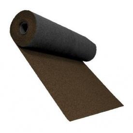 Розжолобковий килим Shinglas 3,4 мм 1х10 м темно-коричневий