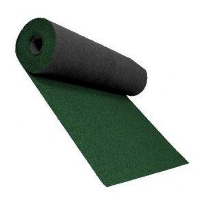 Розжолобковий килим Shinglas 3,4 мм 1х10 м темно-зелений
