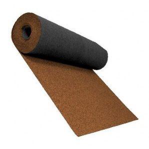 Розжолобковий килим Shinglas 3,4 мм 1х10 м світло-коричневий