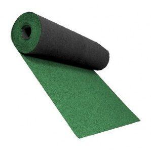 Розжолобковий килим Shinglas 3,4 мм 1х10 м зелений