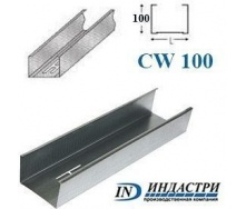 Профиль ПК Индастри CW 100x50 мм 0,45 мм