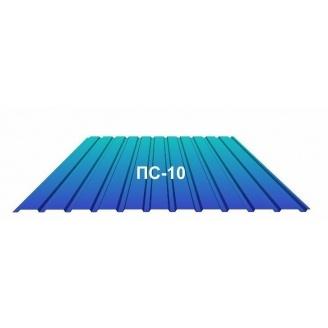 Профнастил Индастри ПС 10 цинк 950/1195 мм 0,3 мм RAL 5005
