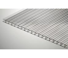 Поликарбонат сотовый Vizor 4 мм прозрачный