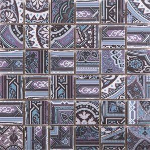 Мозаїка АТЕМ Aladdin Pattern BL M4 298x298 мм