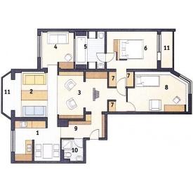 Перепланировка квартиры многоэтажного дома