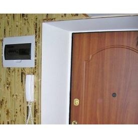 Установка откосов входной двери