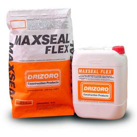 Гідроізоляційна суміш Drizoro MAXSEAL FLEX 25 кг + 10 л білий