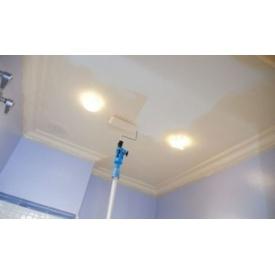 Окраска потолка водоэмульсионной краской